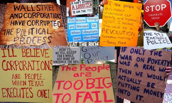 Occupy Signs
